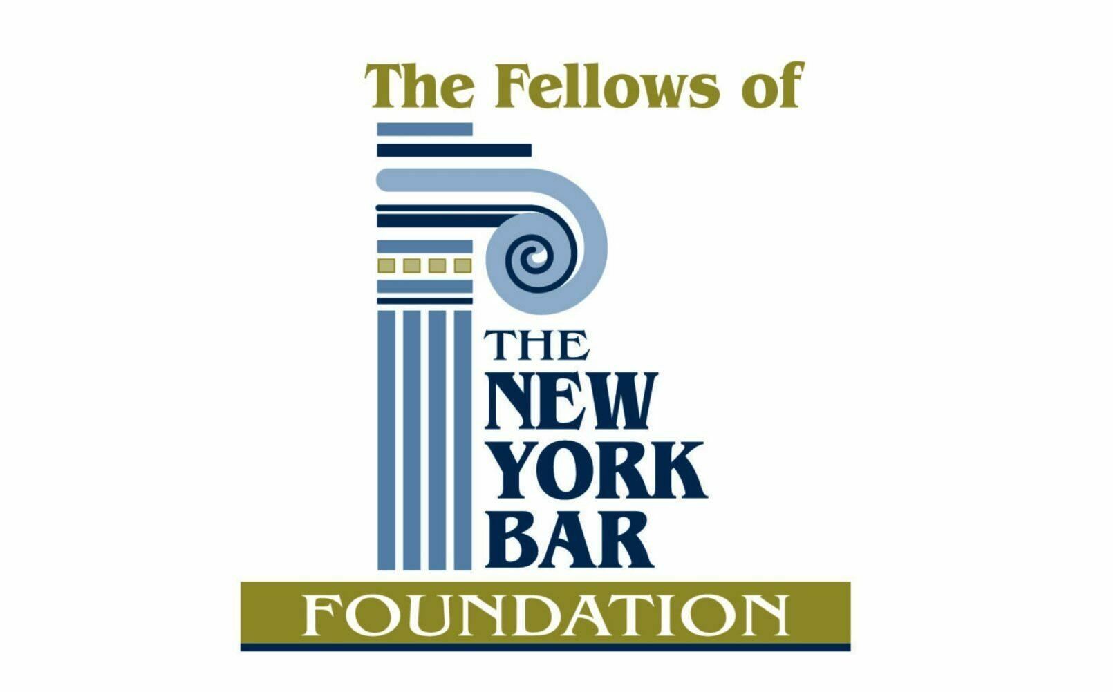 The fellows of the new york bar foundation
